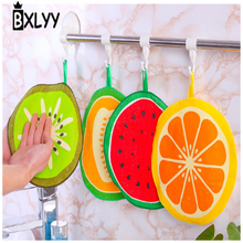 BXLYY new can hang fruit pattern towel kitchen absorbent rag home decoration accessories 2019 year decorations Christmas.7z