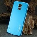 S5 Luxury Brush Aluminum Case For Samsung Galaxy S5 I9600 Fashion Metal Frame Battery Cell Phone Back Cover New Arrival