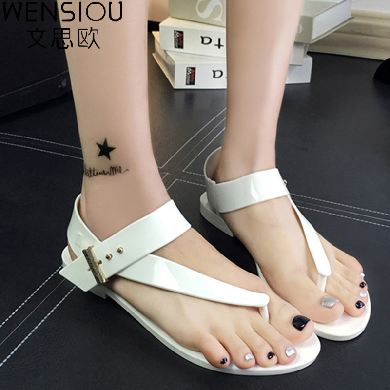 New summer Women sandals fashion woman casual flat sandals women shoes flip flops female footwear beach shoes 2017 AST1009