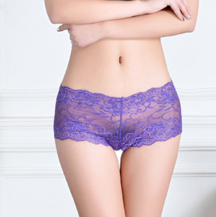 Sexy boy shorts underwear for women