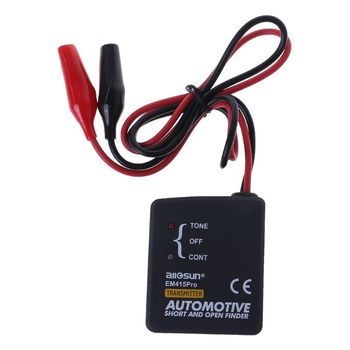 Universal EM415PRO Automotive Cable Wire Tracker Short & Open Circuit Finder Tester Car Vehicle Repair Detector Tracer 6-42V car circuit detector car circuit tester car electronic detector stethoscope earphone noise finder automotive noise sensor