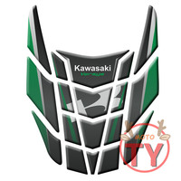 Motorcycle For Kawasaki Versys 1000 Versys 650 ZX 6R 10R 05 07 06 11 Tank Pad 3D Tank Decals MOTO Protector Decal Fish Sticker