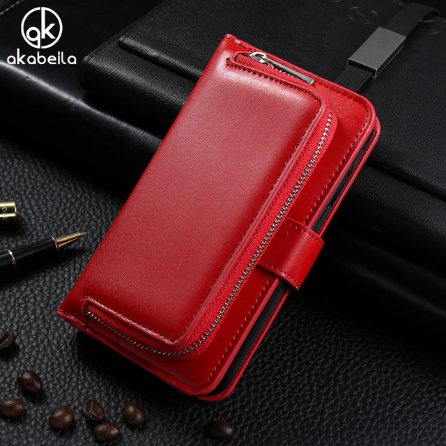 AKABEILA Stand Flip Wallet Leather Case For Samsung Galaxy S5 G900F G900I G900M G900A G900T G900W8 G900K/G900L/G900S SV I9600