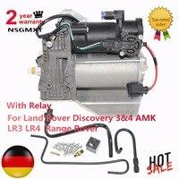 Пневматическая подвеска компрессор для Land Rover Discovery 3 и 4 АМК LR3 LR4 Range Rover LR015303 LR023964 6H2219G525BE LR045251