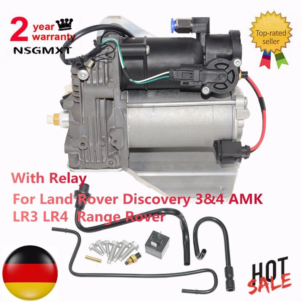 Compresseur de Suspension pneumatique Pour Land Rover Découverte 3 & 4 AMK LR3 LR4 Gamme Rover LR015303 LR023964 6H2219G525BE LR045251