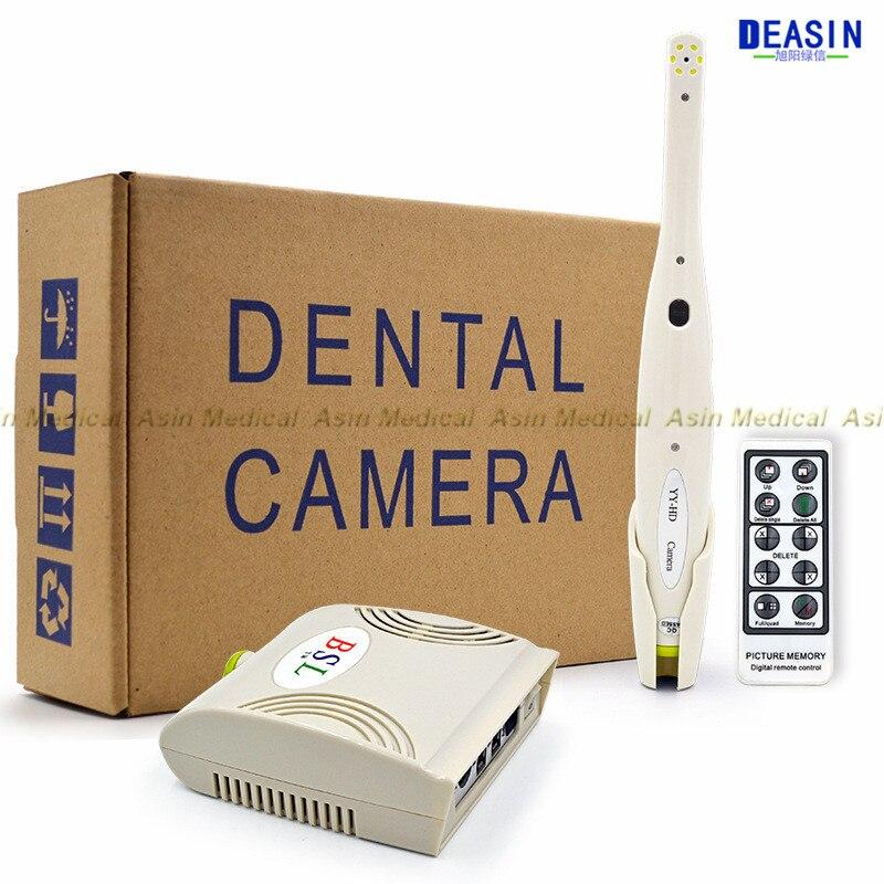 US $248 9 5% OFF 2018 high quality 5 0 Mega Pixels Intra oral Endoscope  Dental Camera 6 LED Light Monitoring Inspection for Dentist Oral-in Teeth