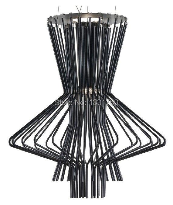 Gold/black color Foscarini Allegretto Ritmico Suspension lamp Allegro Pendant Lamp hanging lighting designed by ATELIER стоимость
