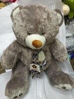 Mishatoys stuffed toys big soft plush teddy bears giant pillow for girls children boys musical igrushka 75 cm