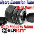 Meike Metal Mount Auto Focus Macro Extension Tube For NIKON