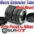 Meike Monte Metal Auto Focus Macro Extension Tube Para NIKON