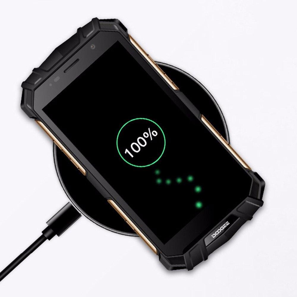 Sans fil Chargeur Pour Doogee S60 Charge Rapide Mode Cool Mobile Téléphone accessoire Qi Charging Pad Pour Doogee S 60 Rapide Dock Cas