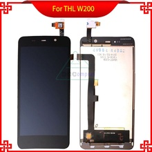 100% Original THL W200 Display Lcd Digitizer Touch Screen For THL W200 W200S W200C 1280×720 5.0 inch Lcd Screen Replacemen