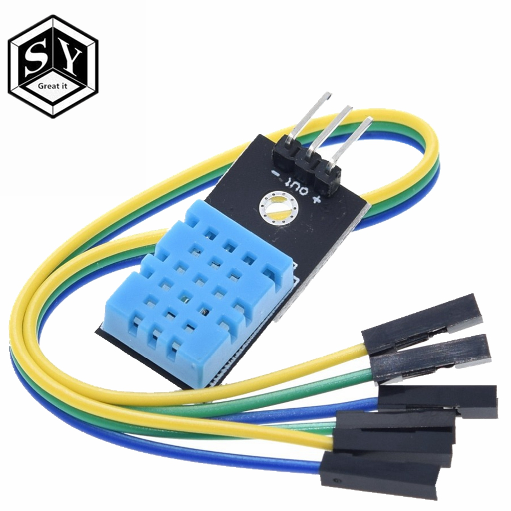 1PCS Great IT New DHT11 Temperature And Relative Humidity Sensor Module For Arduino