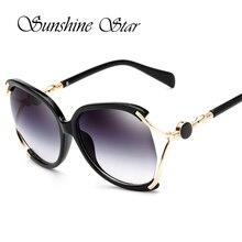 Pop Edad Gafas de Sol de Gran Tamaño gafas de Sol de Diseñador de la Marca Celebrity Mujeres Sexy Flat Top Señoras Gafas Gafas de sol Oculos