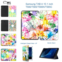 MTT New High quality Print leather cover for Samsung Galaxy Tab A 10.1 T580 T585 2016 case for SM-T580 SM-T585 tablet sleeves