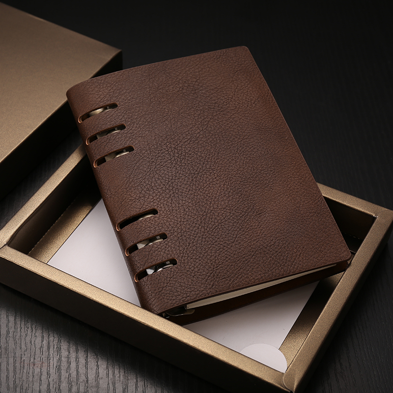A6 Business Notebook Faux Leather Vintage Spiral Composition Book Business Office Daily Memos School Stationery 18.5*13.1cm ролевые игры совтехстром тележка для супермаркета