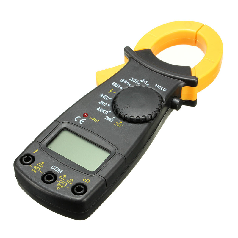 DT3266L AC/DC Handheld Digital Clamp Meter Voltage Current Resistance Tester Multimeter  цены