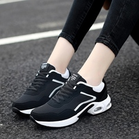 Couples Running Shoes Spring Autumn Mens Trainers Air Shoes Black Red Tracking Shoes Comfortable Sport Shoes For Women