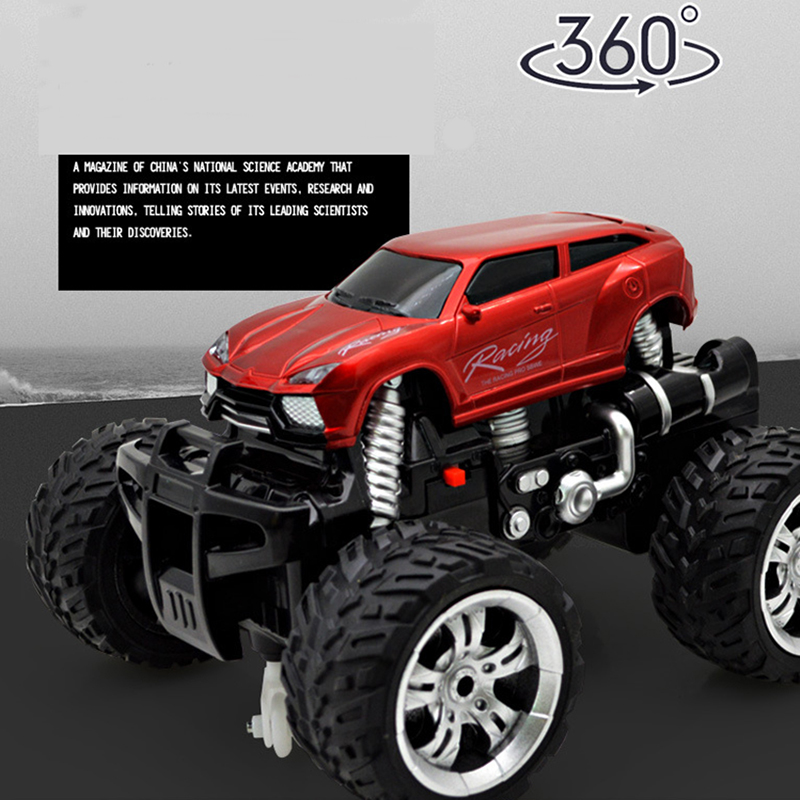 Hot RC Car Double Motors Drive 4WD 2.4G 4WD 4x4 Driving Rock Car Bigfoot Cars Remote Control Model Off-Road Vehicle Toy