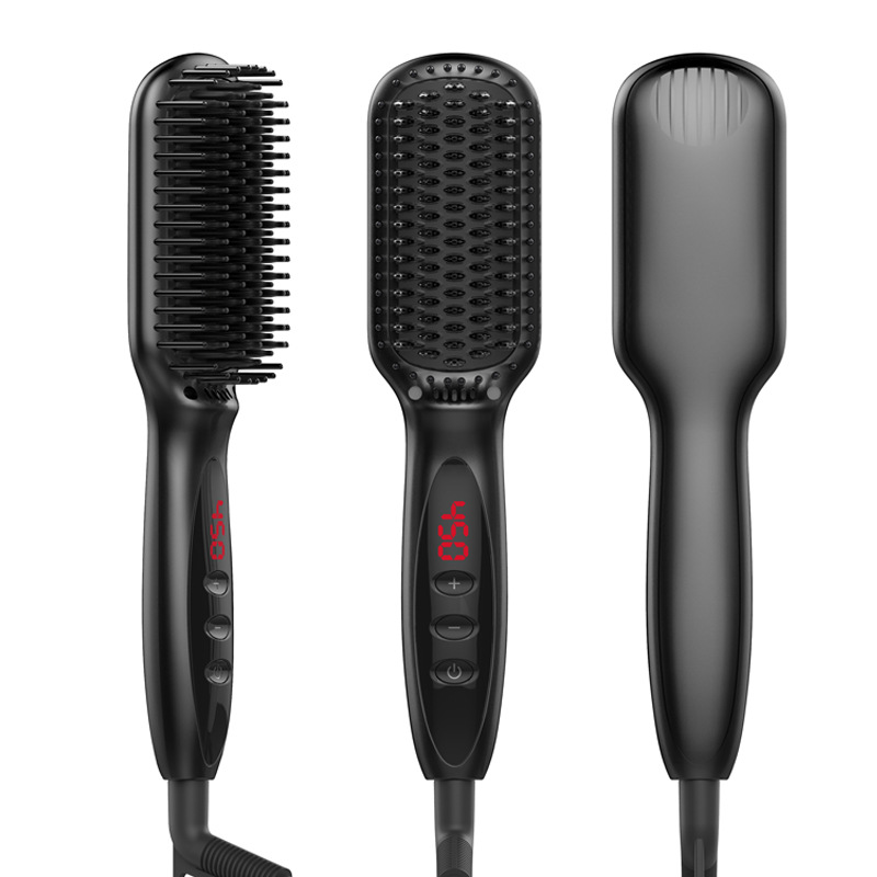ФОТО Best styling comb fast heat comb Hair straightener Hair Straightening Irons brush Hair Straight brush free Heat Resistant Comb