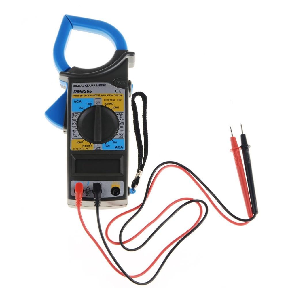 Electrical Clamp Meter : Digital multimeter clamp electrical meter