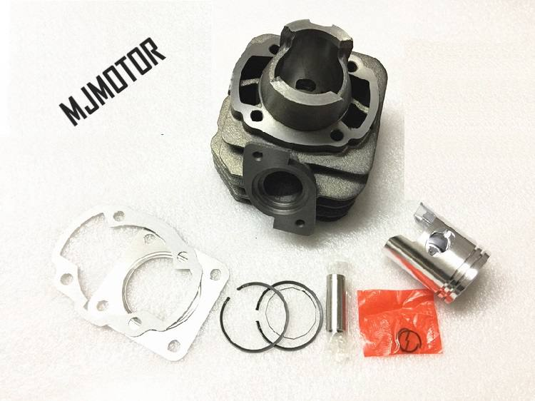 DIO50 Cylinder Kit with Piston Rings For Chinese QJ Keeway Scooter HONDA ZX50 2 stroke engine