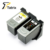 Tatrix PG 37 CL 38 For Canon PG37 CL38 Ink Cartridge For Canon Pixma iP1800 iP2500 MP210 MP220 MP470 MX300 MX310 Mini 260