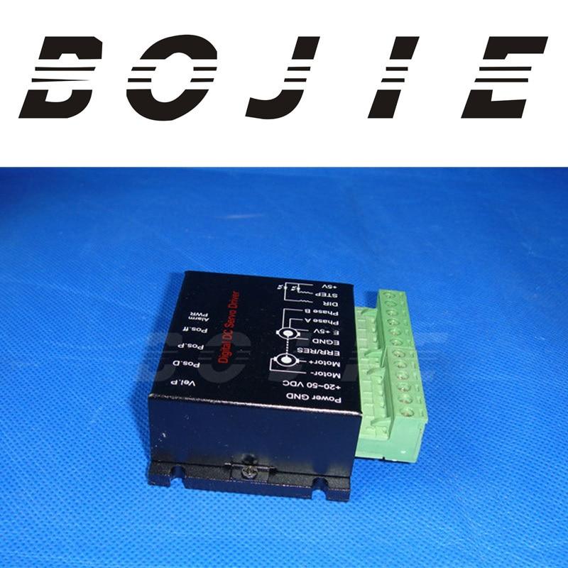 Bojie printer machine dc motor driver MCDC505 drive can instead of leadshine DB810 servo driver leadshine dc servo driver acs606 brushless servo drive max 60 vdc 18a peak