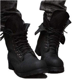 b8cdb7e1e69 Male high boots outdoor work boots trend boots tall boots fashion ...