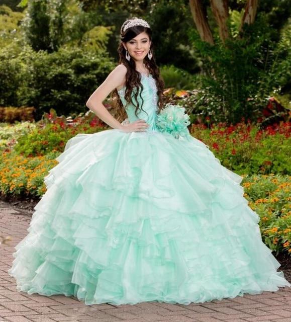 2017 vestidos quinceanera vestido de baile organza off the shoulder sweet 16 Anos Da Princesa Vestidos Para crianças de 15 Anos Vestidos De 15 Anos