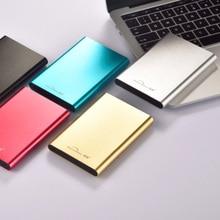 Кабель для подключения жесткого диска 2 ТБ 1 ТБ Портативный внешний жесткий диск SATA 2 ТБ 1 ТБ Disco Duro USB3.0 HDD для компьютера и ноутбука 1 ТБ 2 ТБ жесткий диск Externo