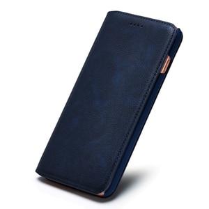 Image 3 - Musubo Ultra Slim Phone Case for iPhone X 7 Plus Genuine Leather Luxury Cases Cover for iPhone 8 6 Plus 6s S9 Plus S8 Flip capa