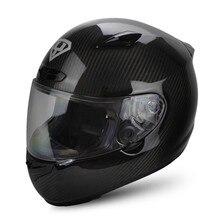 Carbon Fiber YOHE Full Face Motorcycle Helmet Motobike Motocicleta Cacapete Casco Casque Kask Men Women Snell Racing Helmets