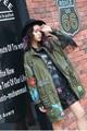 Мелинда Стиль 2017 новых мужчин мода jacekt заклепки кисточкой украшенные повседневная пальто и пиджаки бесплатная доставка