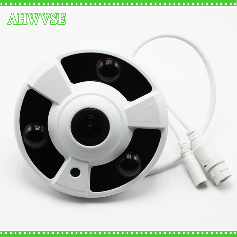 AHWVSE FishEye 5MP IP Camera 1080P Wide Angle 1.7MM Lens Camera CCTV Indoor ONVIF Free Shipping купить