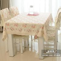 2015 thời trang hàng đầu bán hoa và cây manteles para mesa giá rẻ bàn ăn khăn trải bàn ghế bìa đệm hoa