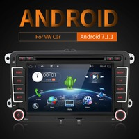 2014 Pure Android 4 2 Car DVD Capacitive Screen For VW Golf 5 6 Passat Jetta