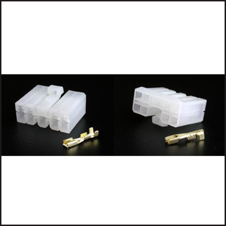Male connector female wire connector 9 pin connector terminal Plugs socket Fuse  box Wire harness Soft Jacket DJ7091 3 21-in Connectors from Lights ...