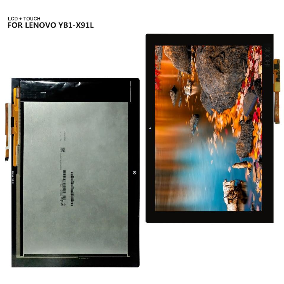 Для lenovo Yoga Book YB1 X91L YB1 X91F ЖК дисплей сенсорный экран панель стекло дигитайзер сборка для YogaBook YB1 X91 ЖК