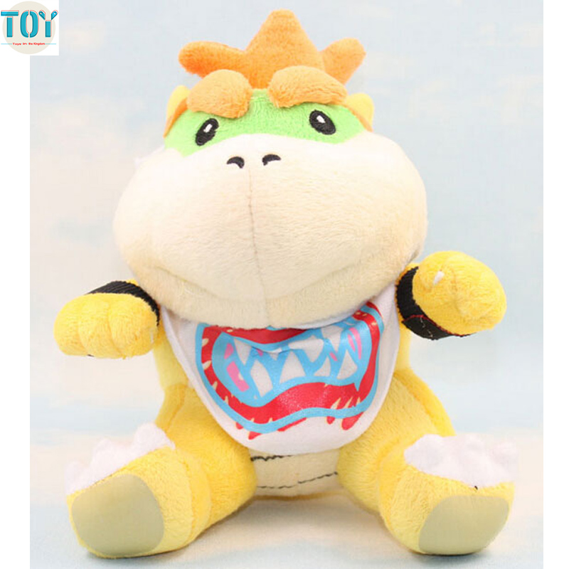 Us 7 29 Ohmetoy Super Mario Bowser Koopa Jr Sanei Baby Toys Stuffed Doll 18cm Kids Cartoon Birthday Gift Anime Juguetes In Movies Tv From Toys
