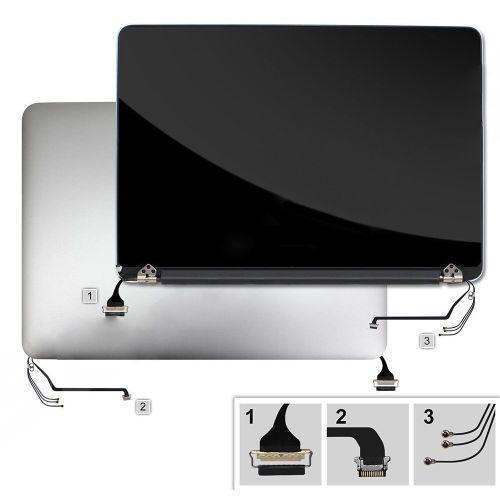 Venta al por mayor Original ordenador portátil A1502 LCD Asamblea 13 para MacBook Pro A1502 pantalla LCD Panel 2015 Año de trabajo, prueba con película de la piel