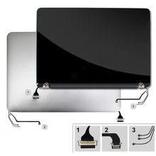 Оптовая оригинальные ноутбук A1502 ЖК-дисплей сборки 13 «для MacBook Pro A1502 ЖК-дисплей Экран Панель 2015 год Рабочие испытания с пленка кожи