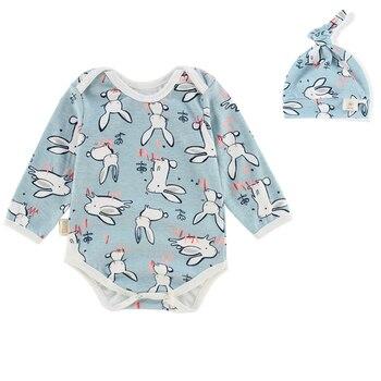 fc833b1161e Mono de bebé recién nacido con tapa mono de manga larga niños ropa de bebé  niñas overoles niños traje de ropa de bebé