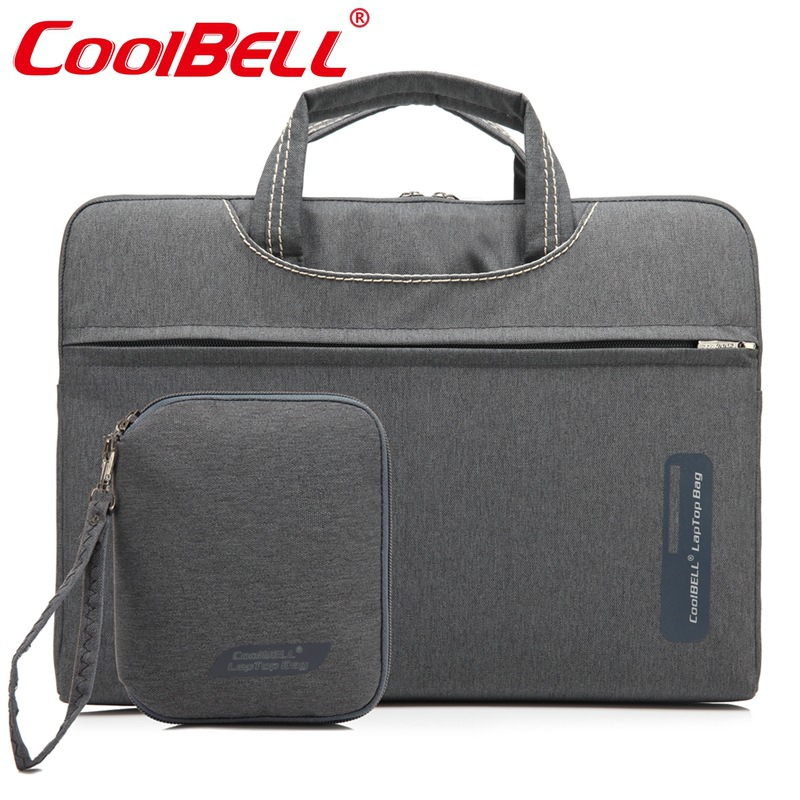 COOLBELL Waterproof Crushproof 13.3,14.1,15.6 inch Notebook Computer Laptop Bag F Men Women Briefcase Shoulder Messenger Bag-FF