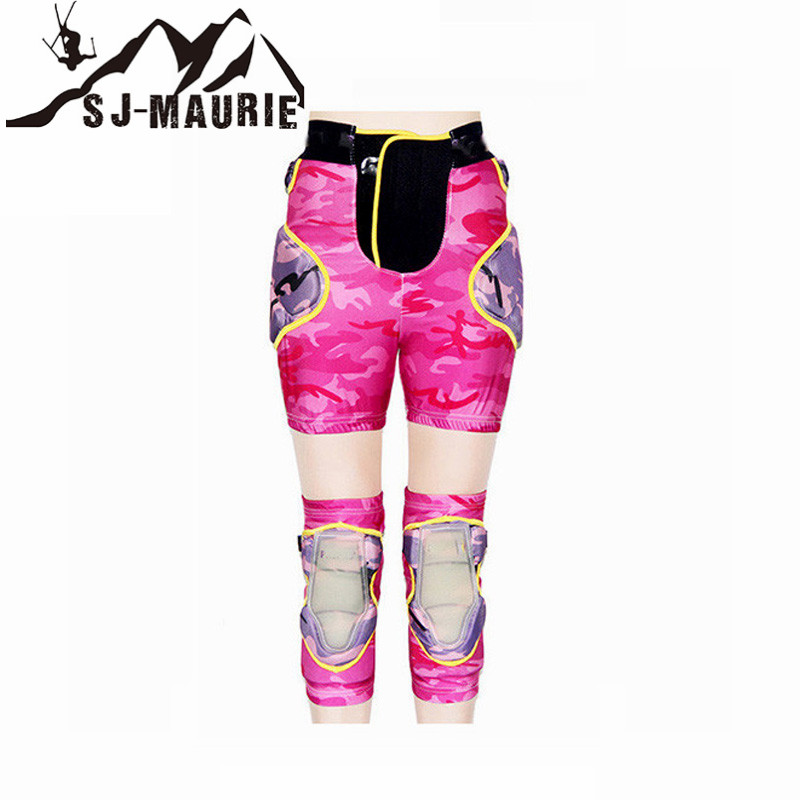 Universal Cycling Skiing Hiking Basketball Volleyball Knee and Hip Pads Protectors Support Neoprene Breathable Brace