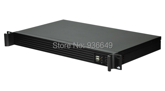Computer server case  1U 250mm designed for Mini-ITX (170mm X 170mm) industrial motherboard