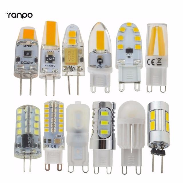Mini G4 G9 Dimmable LED Corn Bulb 2W 3W 4W 5W 6W 7W 9W 5730 2835 SMD