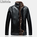 Men Stand Collar Casual Motorcycle Jacket Men's Polyester Zippers Coat Winter Clothes Male Big Size 5XL Black Brown K183