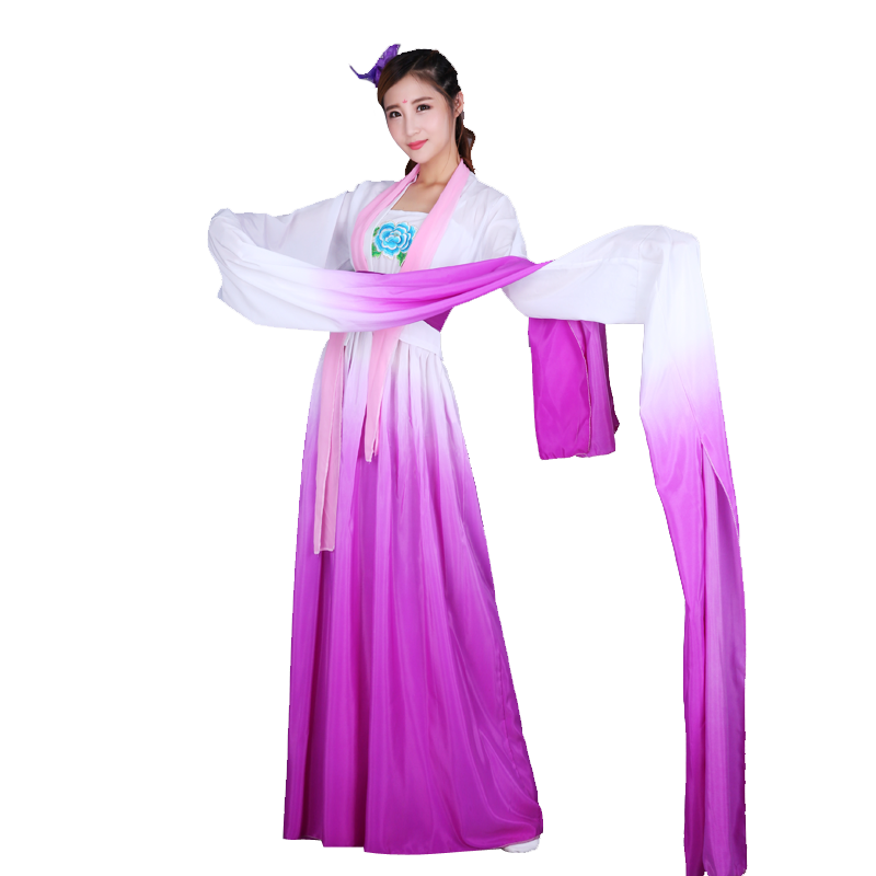 Chinese style classical Hanfu sleeve dance performance costume female costume dance costume sleeve dance
