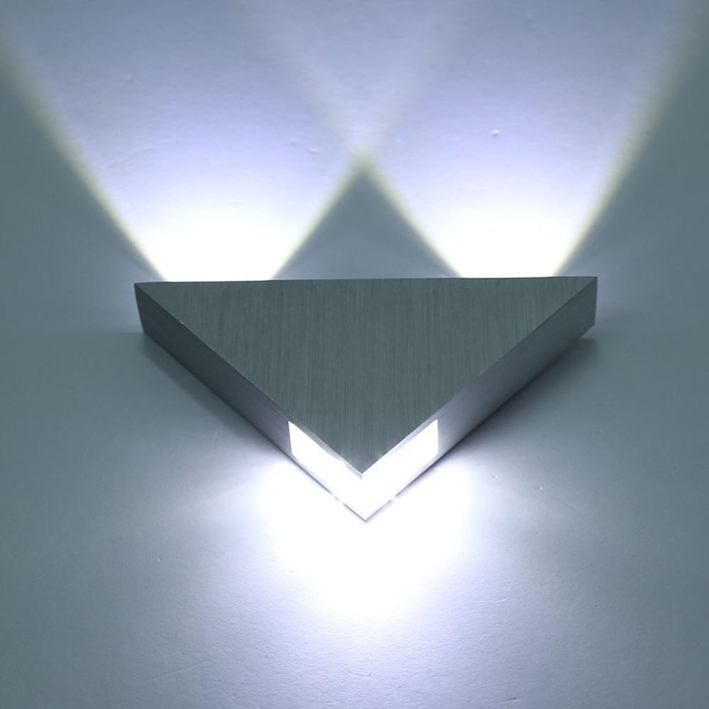Wall Mounted Lights Modern : Online Buy Wholesale triangle lighting from China triangle lighting Wholesalers Aliexpress.com